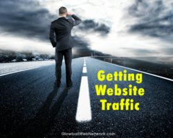 getting traffic to my site