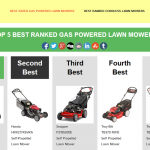 Power Lawn Tools Website Introduction
